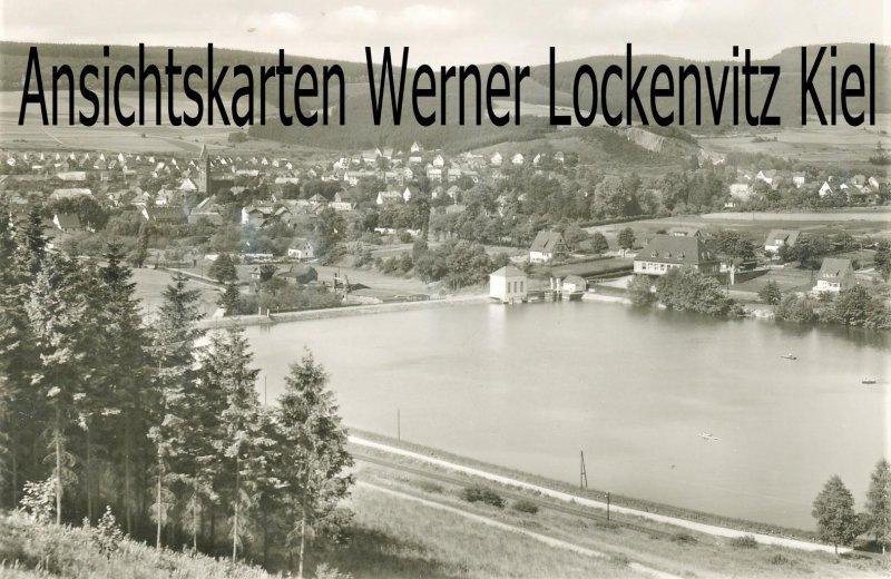 Ansichtskarte Olsberg Blick auf die Stadt Hochsauerland Ortsansicht