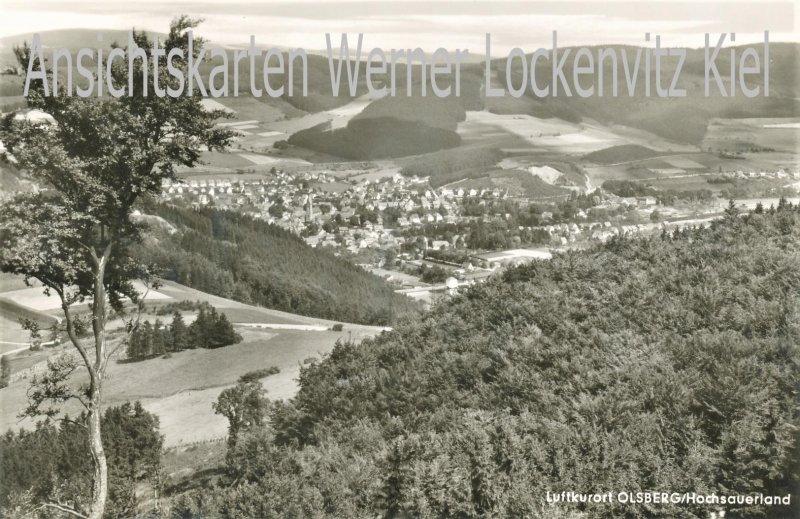 Ansichtskarte Olsberg Panorama