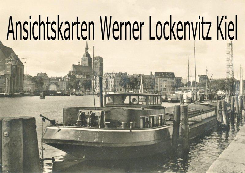 Ansichtskarte Stralsund Hafen der Mole
