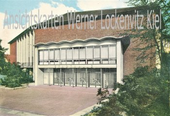 Ansichtskarte Bochum-Wattenscheid Stadthalle