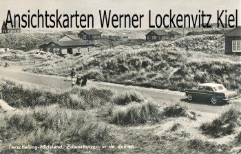 Ansichtskarte Niederlande Terschelling-Midsland Zomerhuizen in de duinen