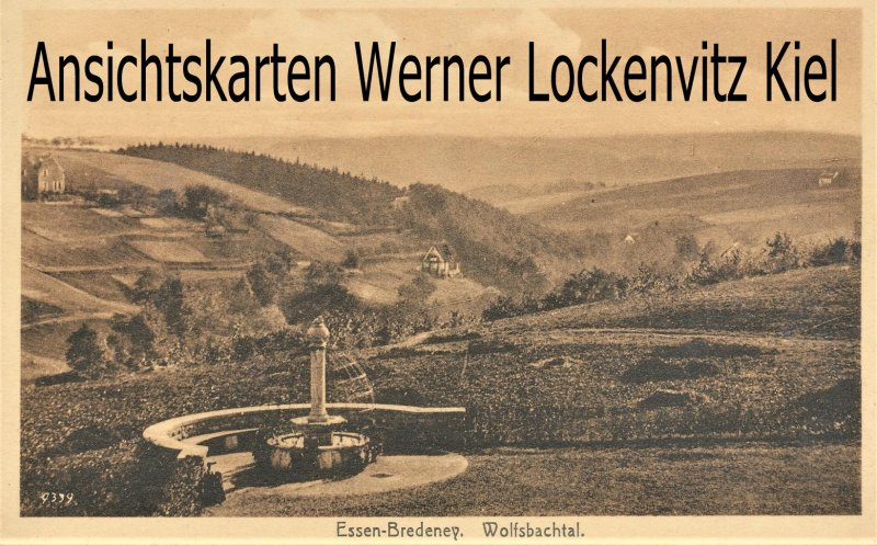 Ansichtskarte Essen-Bredeney Wolfsbachtal