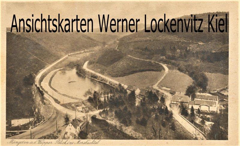 Ansichtskarte Müngsten Blick ins Morsbachtal