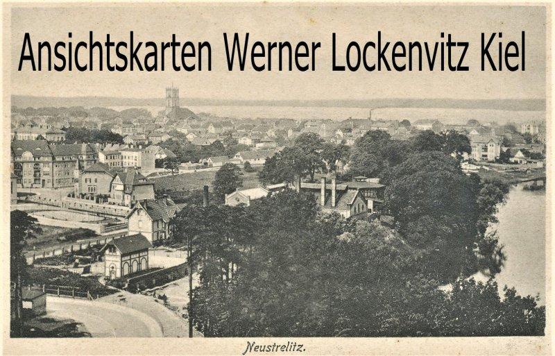 Ansichtskarte Neustrelitz Blick auf die Stadt