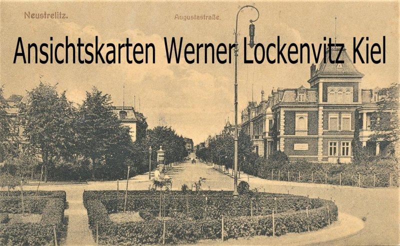 Ansichtskarte Neustrelitz Augustastraße