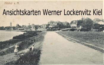 Ansichtskarte Frankfurt-Hoechst am Main Ortsansicht