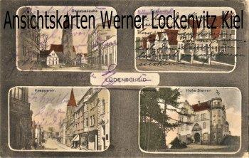 Ansichtskarte Lüdenscheid Knapperstr. Friesenstraße Hohe Steinert