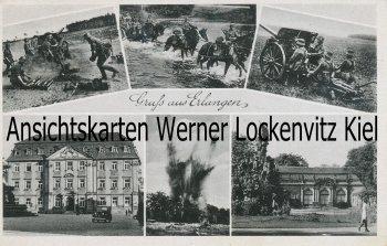 Ansichtskarte Gruß aus Erlangen Militär