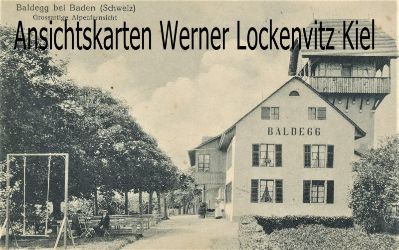 Kopie von  Kopie von  Postcard of  Lenzburg Hero canning factory Frauenfeld branch accomodation for personel