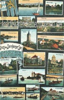 Ansichtskarte Starnberg Ortsansichten