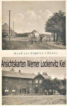 Ansichtskarte Ahrensbök-Siblin Ortsansichten