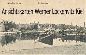 Ansichtskarte Alsleben Saalestrand