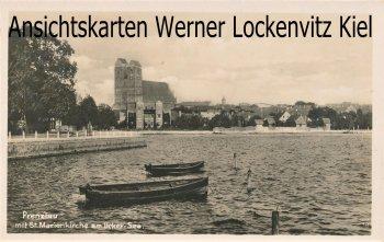 Ansichtskarte Prenzlau St. Marienkirche am Ucker-See