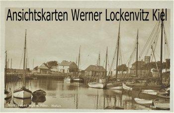 Ansichtskarte Wyk auf Föhr Hafen