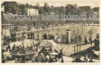 Ansichtskarte Pegnitz Ofr. Stadtbad Nordwestansicht