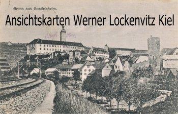 Ansichtskarte Gundelsheim Ortsansicht