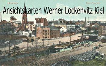 Ansichtskarte Elmshorn Hafen-Panorama