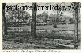 Ansichtskarte Faßberg-Müden Örtze Am Mühlenweg