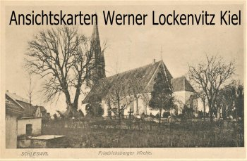 Ansichtskarte Schleswig Friedrichsberger Kirche