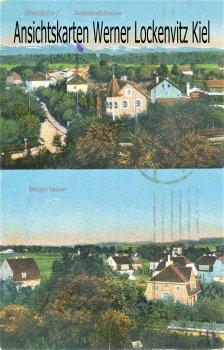 Ansichtskarte Gauting-Stockdorf bei Planegg Bergstrasse Bahnhofstrasse