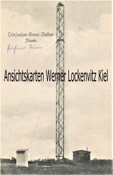 Ansichtskarte Nauen Telefunken-Gross-Station