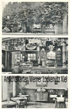 Ansichtskarte Rahden-Sielhorst Gartenrestaurant von H. Wagenfeld