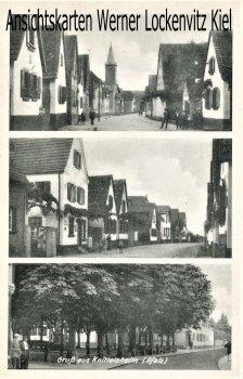 Ansichtskarte Knittelsheim Ortsansichten Straßen