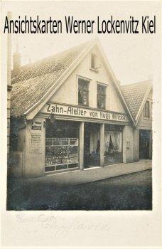 Ansichtskarte Cuxhaven Zahn-Atelier von Hugo Wittcke Fotokarte