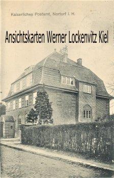 Ansichtskarte Nortorf Kaiserliches Postamt