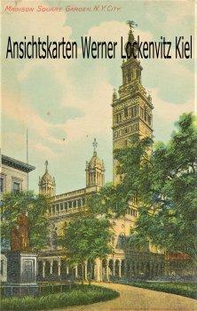 Postcard USA New York City Madison Square Garden