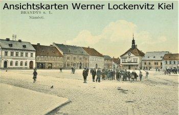 Ansichtskarte Tschechien Brandýs nad Labem-Stará Boleslav Brandeis an der Elbe-Altbunzlau Markt