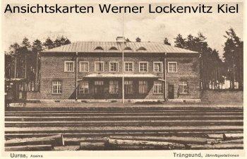 Ansichtskarte Vysotsk Высо́цк Uuras Trångsund Järnvägestationen