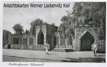 Ansichtskarte Recklinghausen Ehrenmal