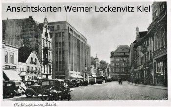Ansichtskarte Recklinghausen Markt