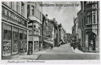 Ansichtskarte Recklinghausen Kunibertistraße mit W. Woolworth