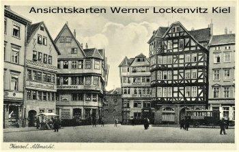 Ansichtskarte Kassel Altmarkt