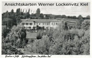 Ansichtskarte Grebin Erholungsheim Im stillen Tal
